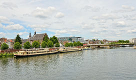 Panorama of Maastricht Stock Image