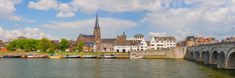 Panorama of Maastricht Stock Photos