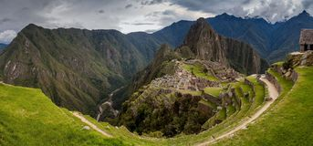 Machu Picchu ruins royalty free stock photos