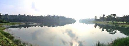 Panorama - MacRitchie-reservoir Royalty-vrije Stock Foto