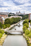 Panorama of Madrid, Capital City of Spain, Europe Royalty Free Stock Photography