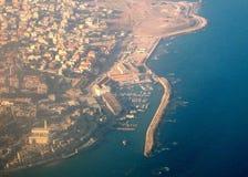 Panorama maio 2008 de Jaffa Fotos de Stock Royalty Free