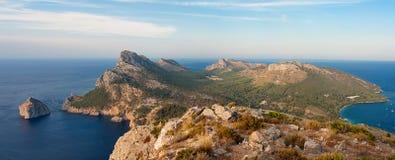 Panorama majorca Formentor Photos libres de droits