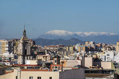 Panorama of Malaga Stock Image