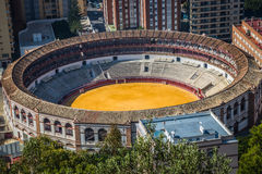 Panorama of Malaga, Spain Royalty Free Stock Photo