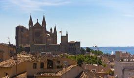 panorama- mallorca Royaltyfria Foton