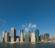 Panorama of manhattan Royalty Free Stock Photography