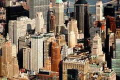 Panorama of Manhattan Stock Photos
