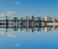 Panorama of manhattan, Royalty Free Stock Photo