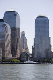 Panorama of Manhattan Royalty Free Stock Photos