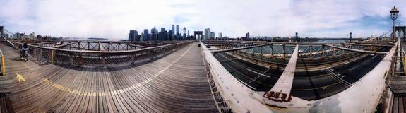 Panorama Manhattan 2000 Stock Photography