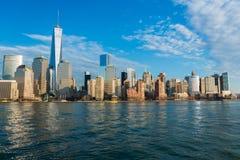 Panorama of Manhattan Royalty Free Stock Images