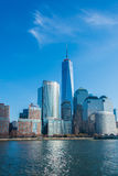 Panorama of Manhattan Stock Photography