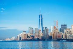 Panorama of Manhattan Royalty Free Stock Photo