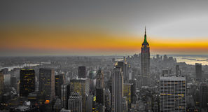 Panorama of manhattan, new york Stock Photos
