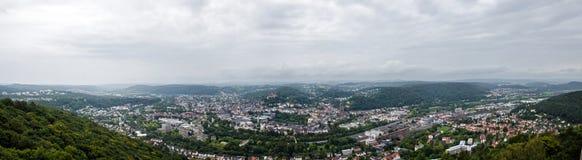 Panorama Marburg Royaltyfri Bild