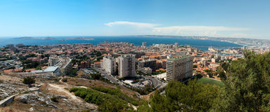 Panorama of Marseille Royalty Free Stock Image