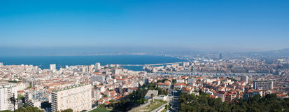 The panorama of Marseille Royalty Free Stock Images