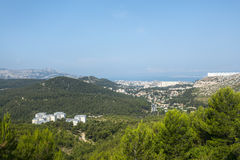 Panorama of Marseille Royalty Free Stock Photos