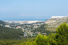 Panorama of Marseille Stock Photos