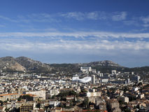 Panorama of Marseille France Stock Images