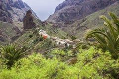 Panorama of Masca, Tenerife Stock Photo