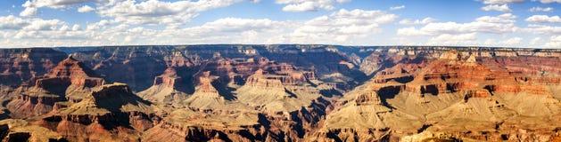 Panorama: Mathew View Point - Grand Canyon, södra kant, Arizona, AZ royaltyfri fotografi
