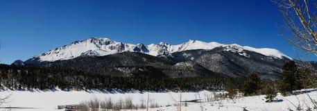 panorama- maximumpikes Arkivfoto