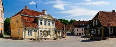 Kuldiga Lettland Arkivbilder