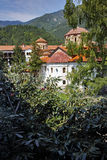 Panorama of  Medieval Bachkovo Monastery Royalty Free Stock Image
