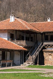 Panorama of medieval Poganovo Monastery of St. John the Theologian Royalty Free Stock Image