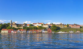 Panorama Meersburg by Lake Constance Royalty Free Stock Photos
