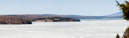 Panorama megantic della bacca fotografie stock