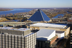 Panorama of Memphis Stock Images