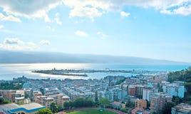 Panorama of Messina Royalty Free Stock Photos