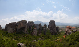Panorama of Meteora Stock Photo