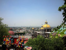 Panorama of a Mexico City Royalty Free Stock Photography
