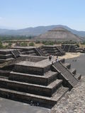 Panorama of a Mexico Valley Royalty Free Stock Photography