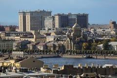Panorama miasto Zdjęcie Royalty Free