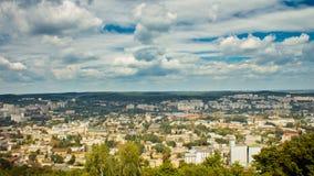 Panorama miasto obrazy stock