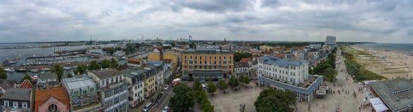 Panorama miasto Obrazy Royalty Free
