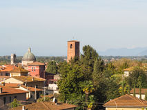 Panorama miasto Pietrasanta Fotografia Stock