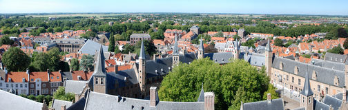 Panorama Middelburg Royalty Free Stock Photo