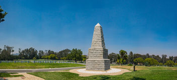 Panorama of Military Cemetery Royalty Free Stock Photo