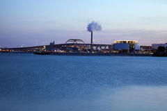Panorama of Milwaukee Stock Photo