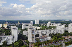 Panorama of Minsk Stock Images