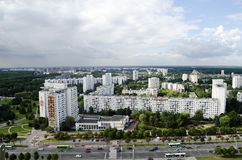 Panorama of Minsk Stock Photos