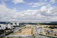 Panorama of Minsk Royalty Free Stock Photography