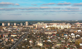 Panorama of Minsk,Belarus Stock Images