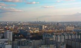 Panorama of Minsk,Belarus Royalty Free Stock Photos